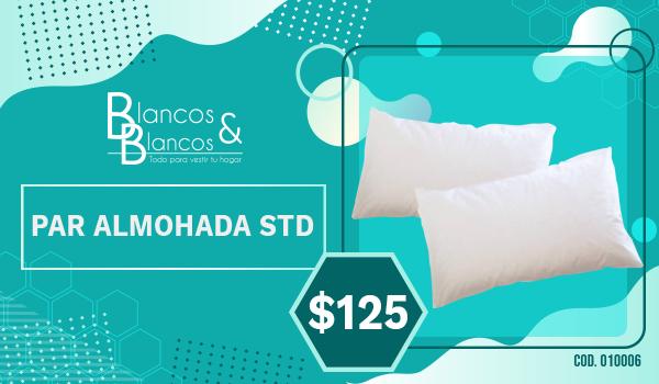 Par almohada STD